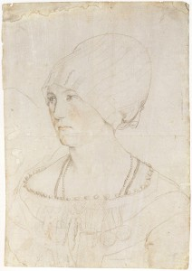 Holbein-pointe-argent-Drawing_of_Dorothea_Meyer