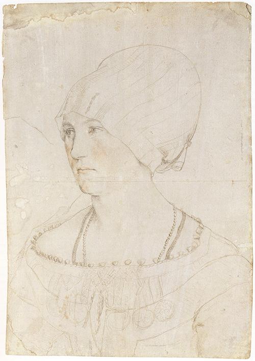 pointe d'argent par Holbein