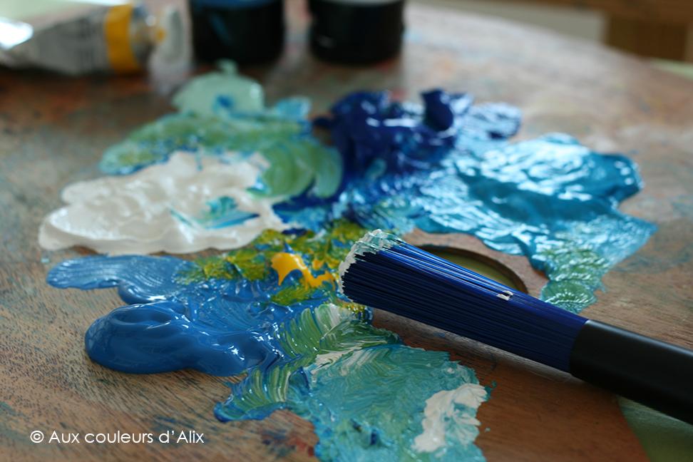 peinture acrylique marque étude fine