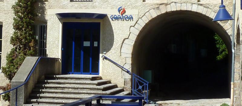 Entrée du Musée Canson
