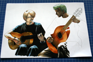 couleur guitares feutre copic