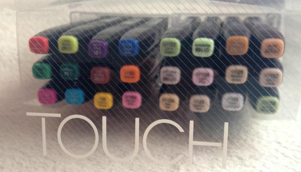 Set de feutres à alcool ShinHan Touch