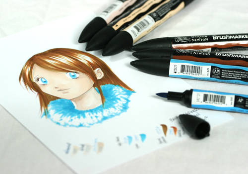feutres brushmarkers