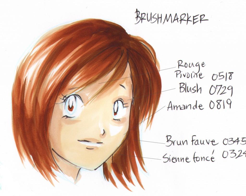 test fille cheveux roux