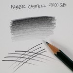 crayon graphite castell 9000 2b-03