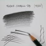 crayon graphite castell 9000 2b-04