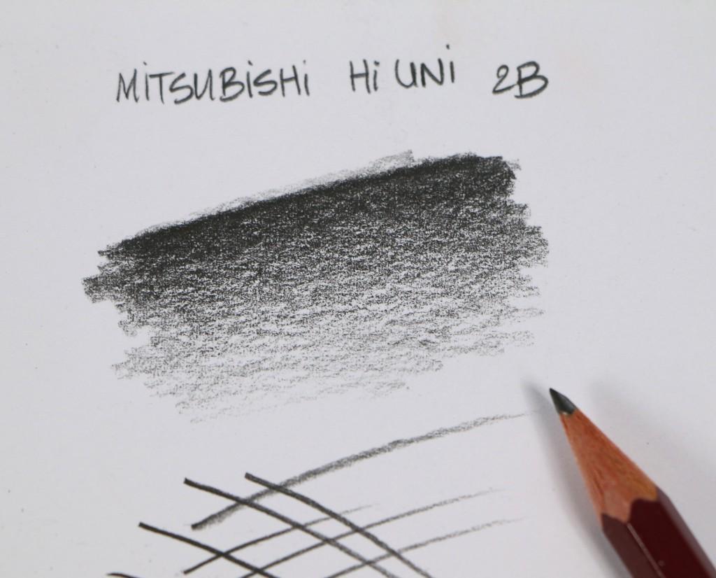 Test crayon hi uni mitsubishi