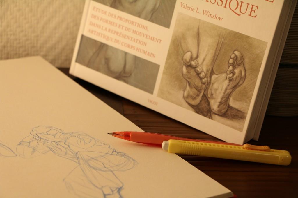 dessin anatomie winslow