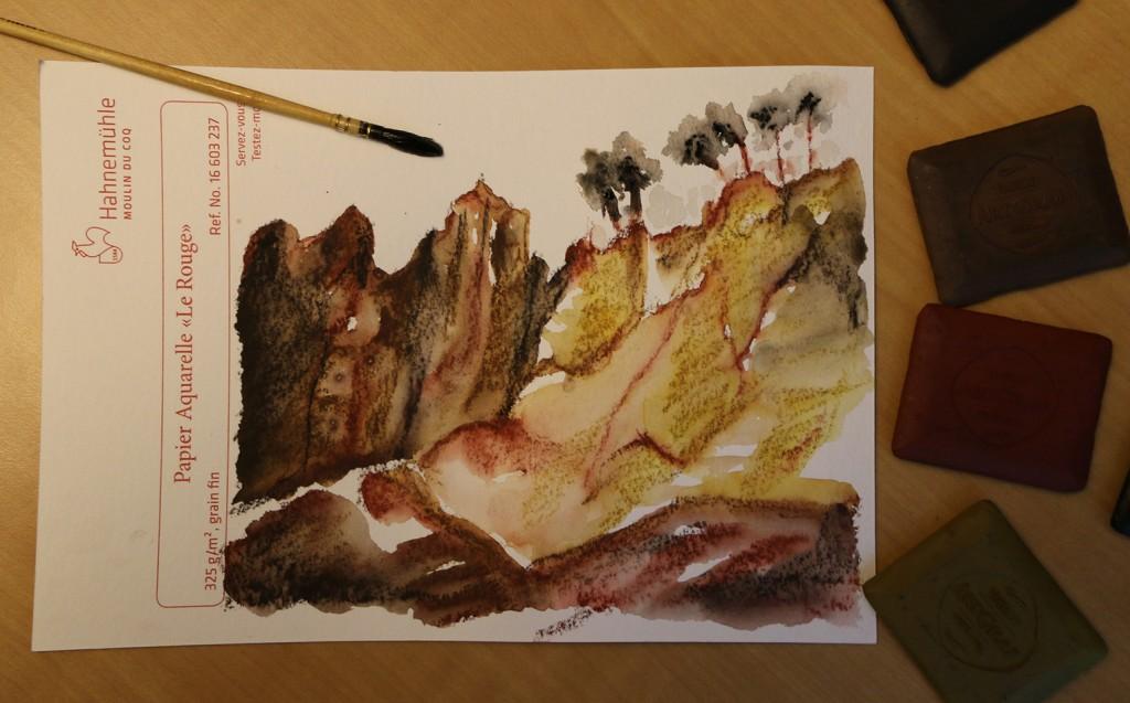 aquarelle art graf viarco
