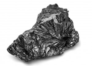Bloc de graphite pur, comme découvert au XVIe s en Angleterre.