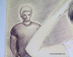 crayon aquarelle derwent graphitint 02