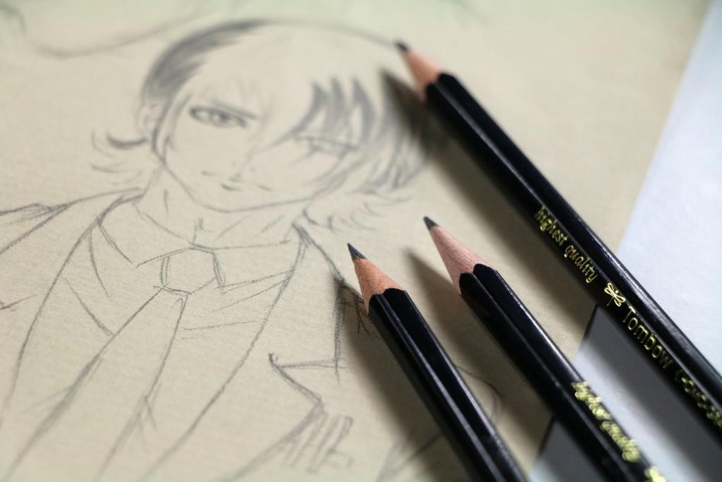crayon graphite tombow mono 100 2b-04