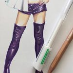 tutoriel copic cuir 9