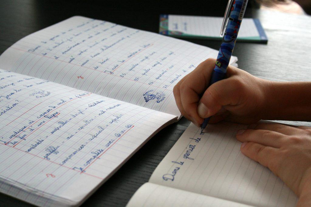 Ecriture au Frixion Pilot by Mika