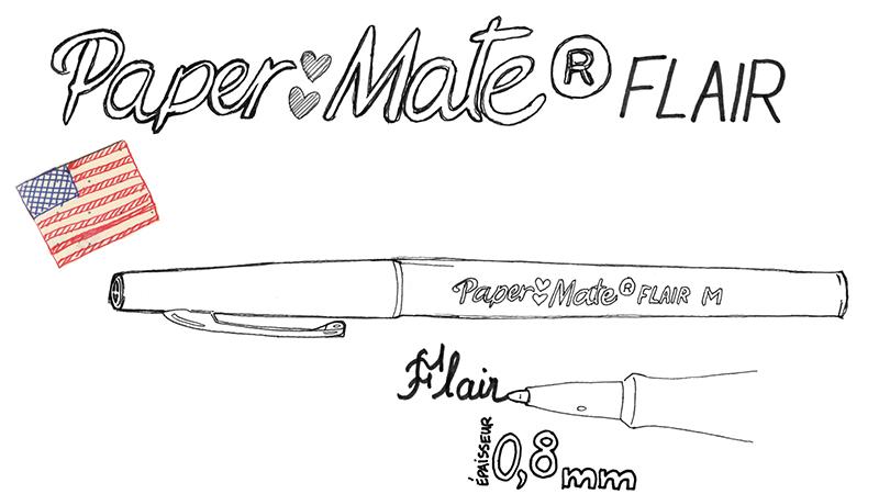 Description Papermate Flair