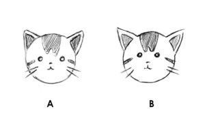 Le plus mignon des dessins de chat