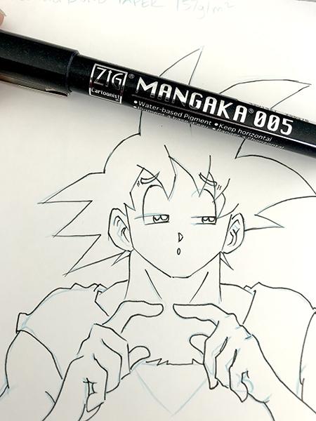 contour liner mangaka 01