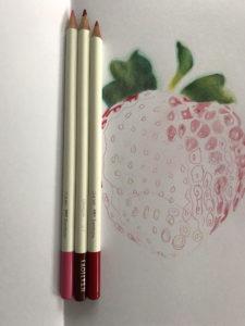 travail en cours irojiten fraise