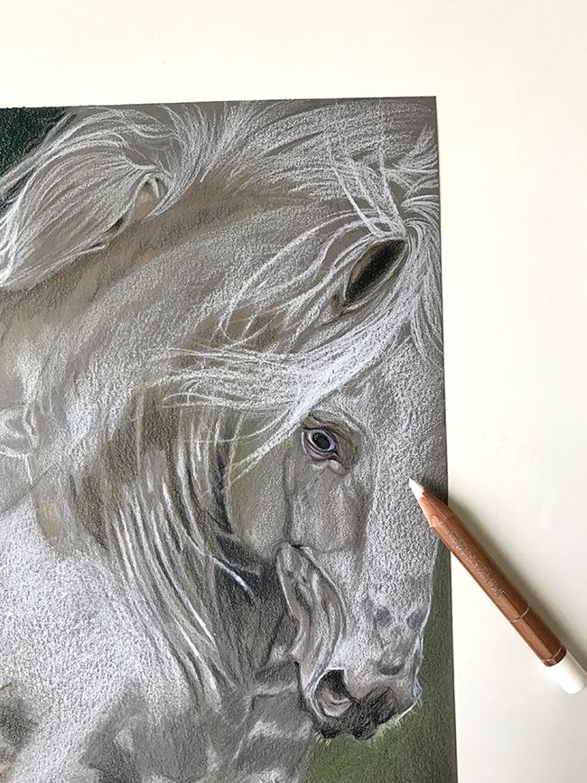 papier paint on cheval blanc