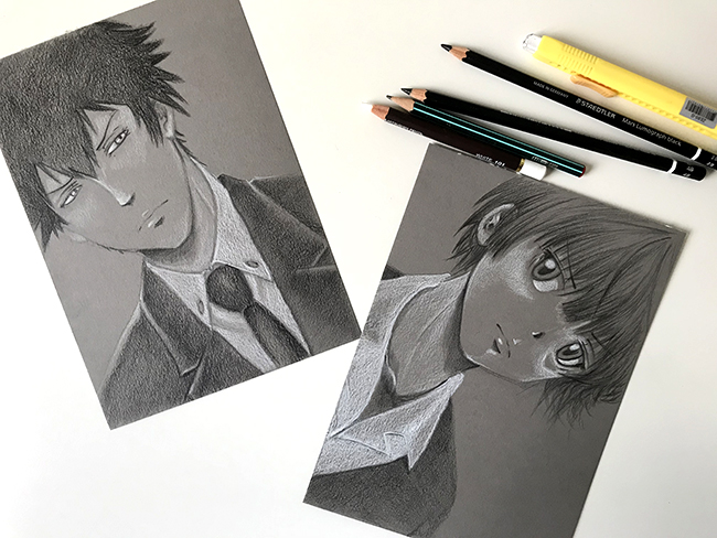 papier paint on avec sujet psycho-pass