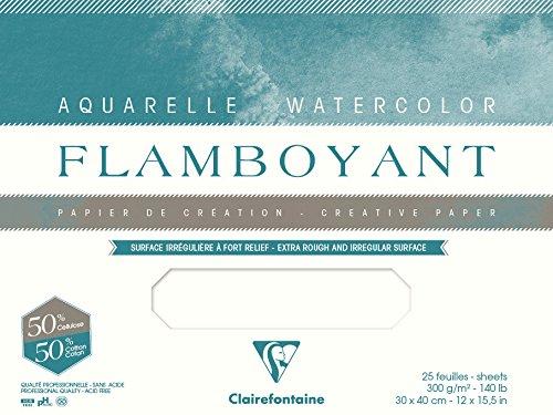 Bloc de papier Flamboyant de Clairefontaine