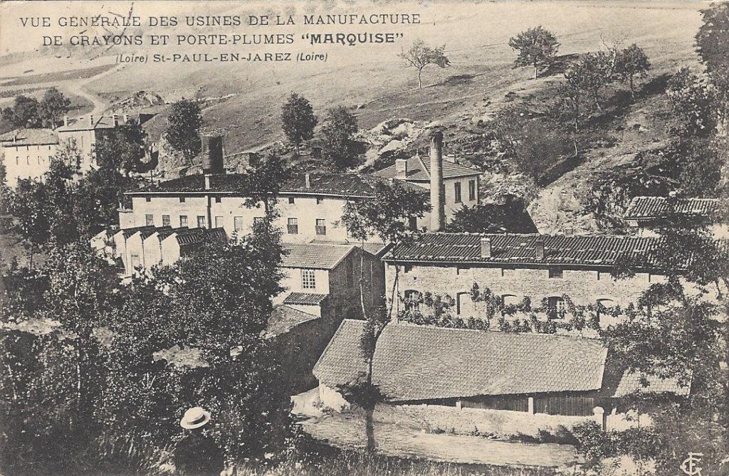 crayons français Marquise moulin