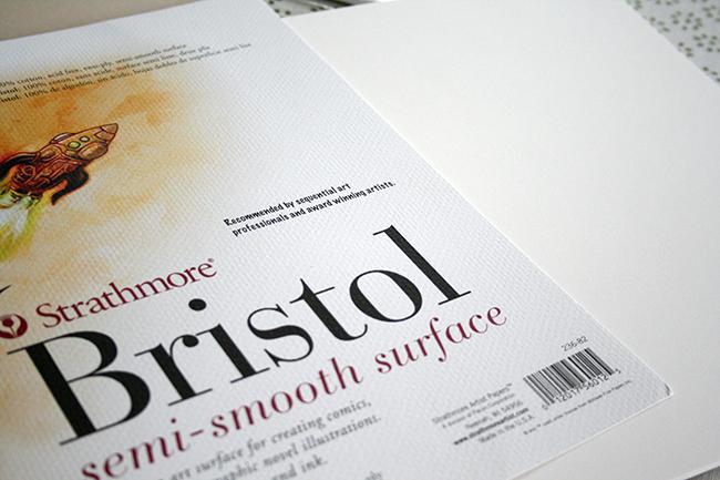 papier strathmore semi smooth