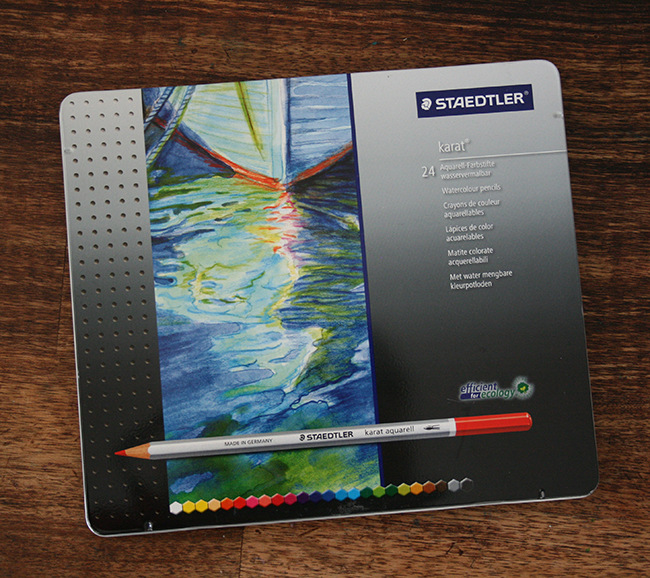 Boîte crayons aquarelle Karat Caran d'Ache