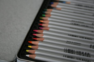 crayon aquarellable karat staedtler
