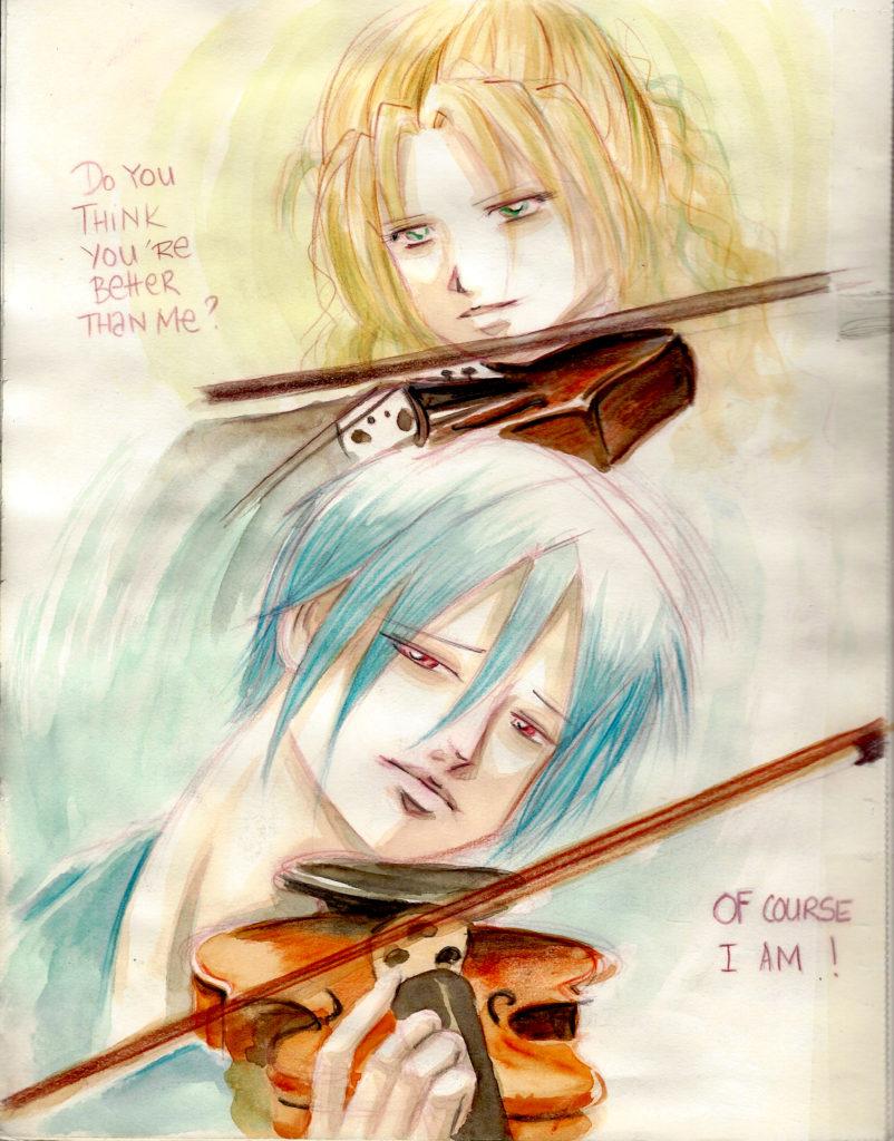Main et doigts de violoniste