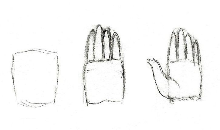 apprendre à dessiner la main