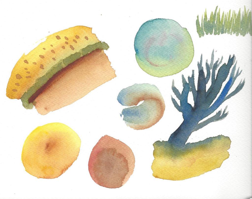 exemples aquarelle QoR