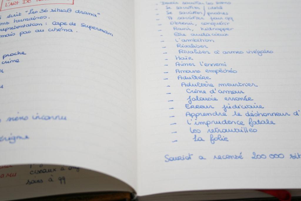 Test de stylo plume sur Paperblanks