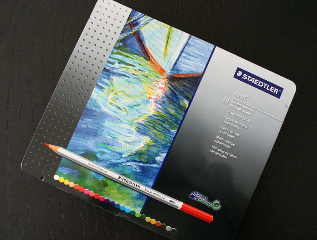 Boîte de crayons Karat de Staedtler