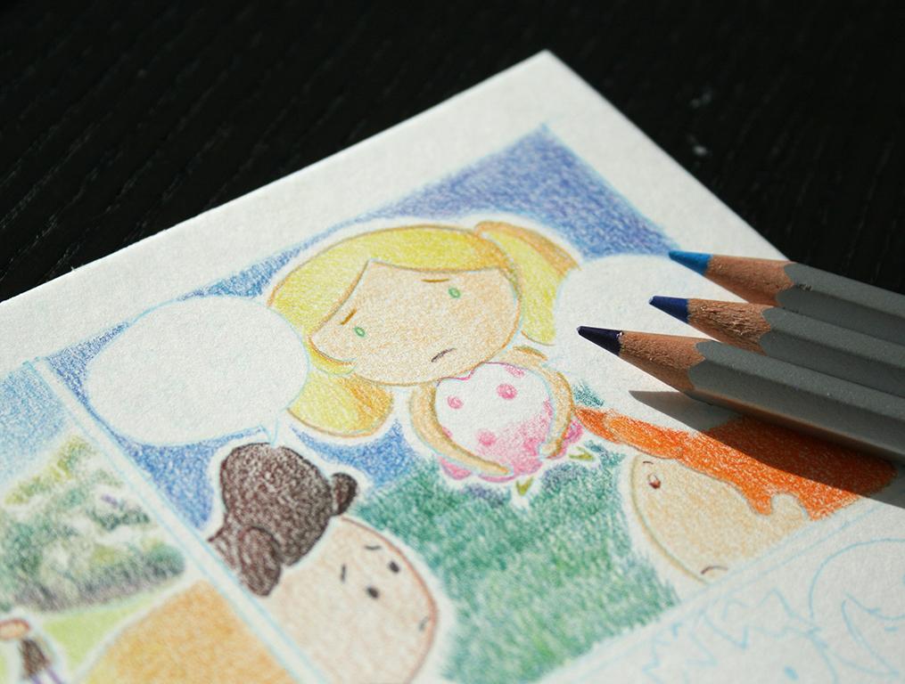 Dessin fait au crayon Karat