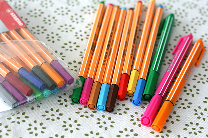 Stabilo Pen 88 Pen 68 et PointMax