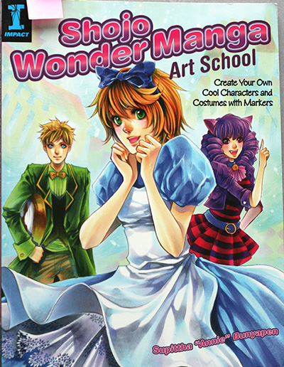Livre Shojo Wonder Manga Art School