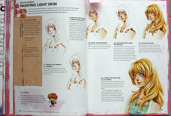 Cheveux au feutre à alcool Shojo Wonder Manga