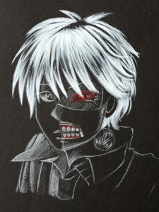 Personnage Tokyo Ghoul sur CarbOn