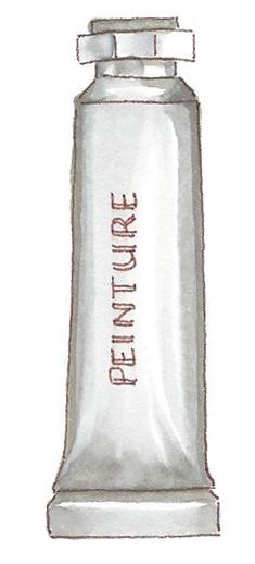 tube de peinture