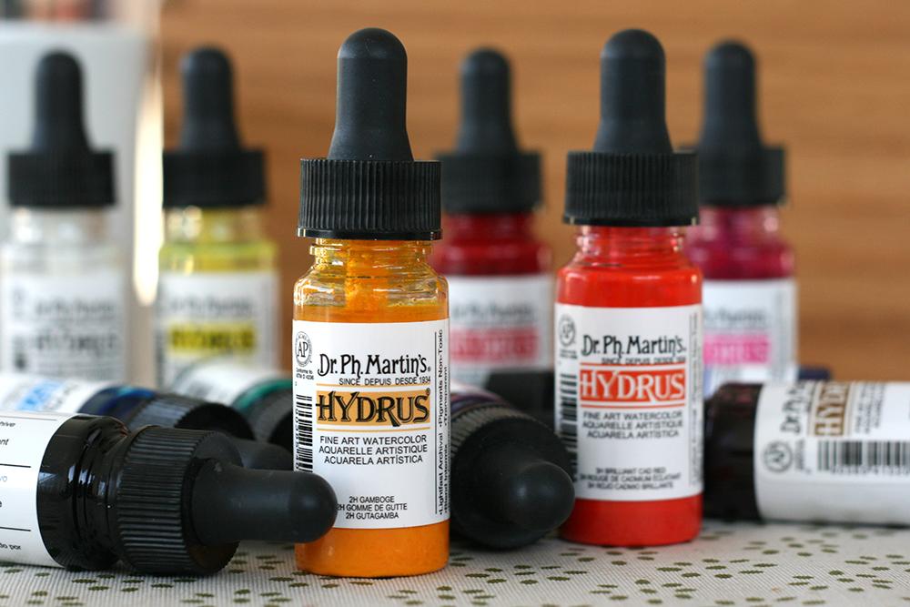 Aquarelle liquide Hydrus de Dr. Ph. Martin's