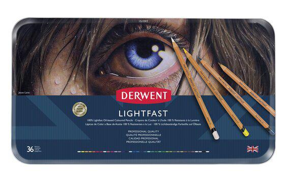 Boîte de crayons de couleur Lightfast de Derwent
