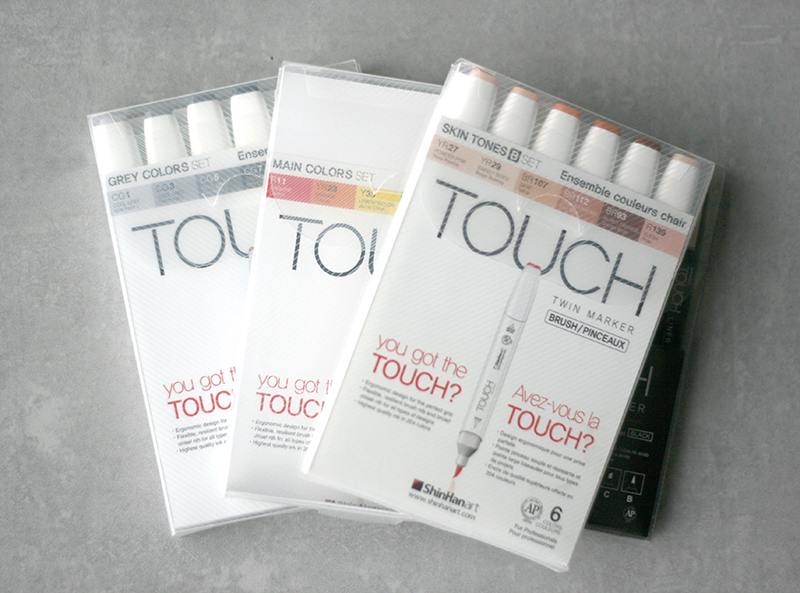 Sets de feutres Touch Twin Brush