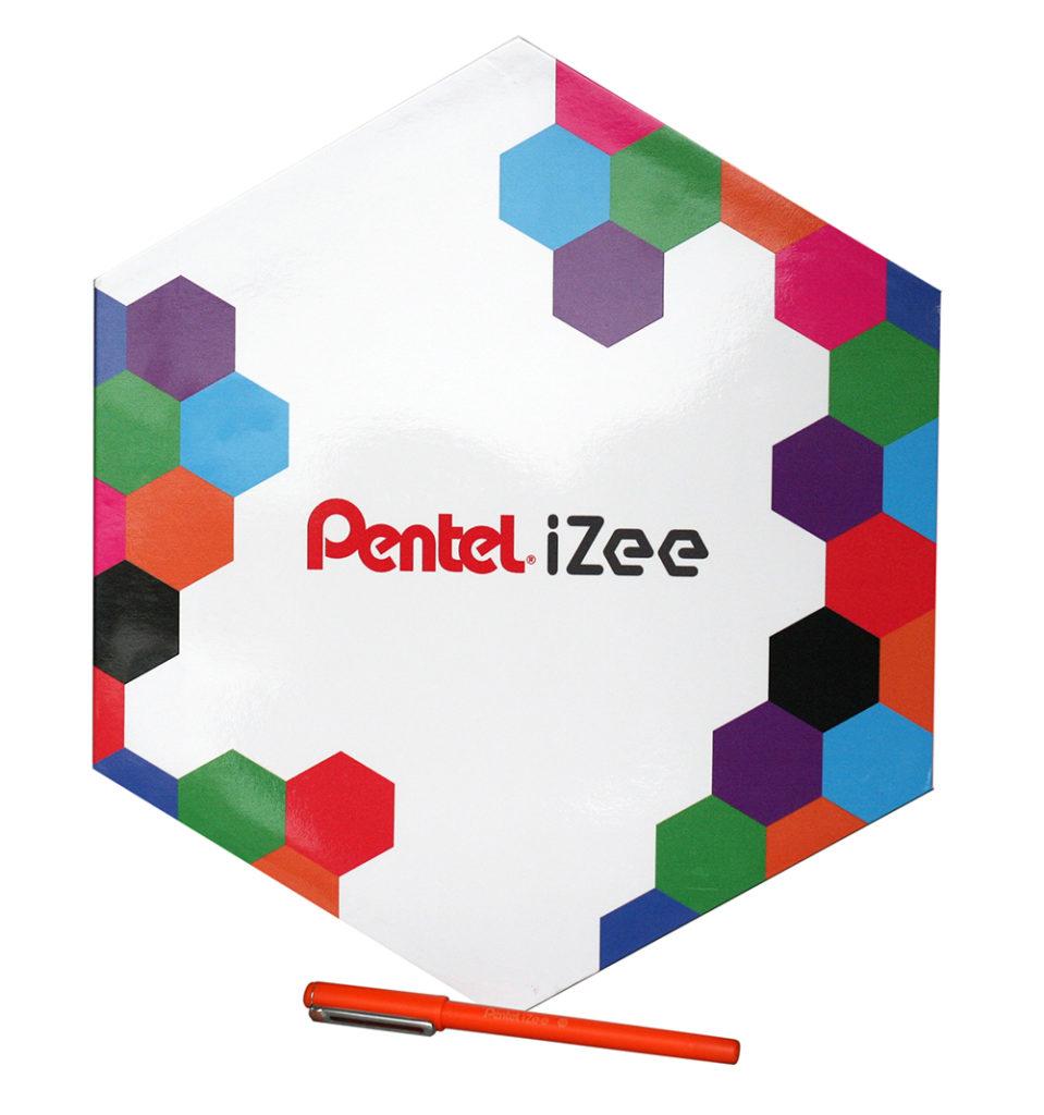 boîte de présentation iZee de Pentel