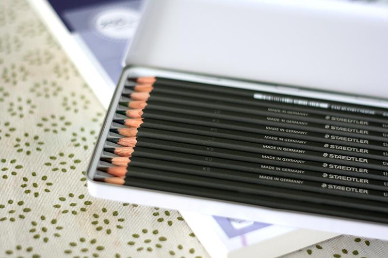 Boîte de crayons de couleur aquarellables teintés Staedtler