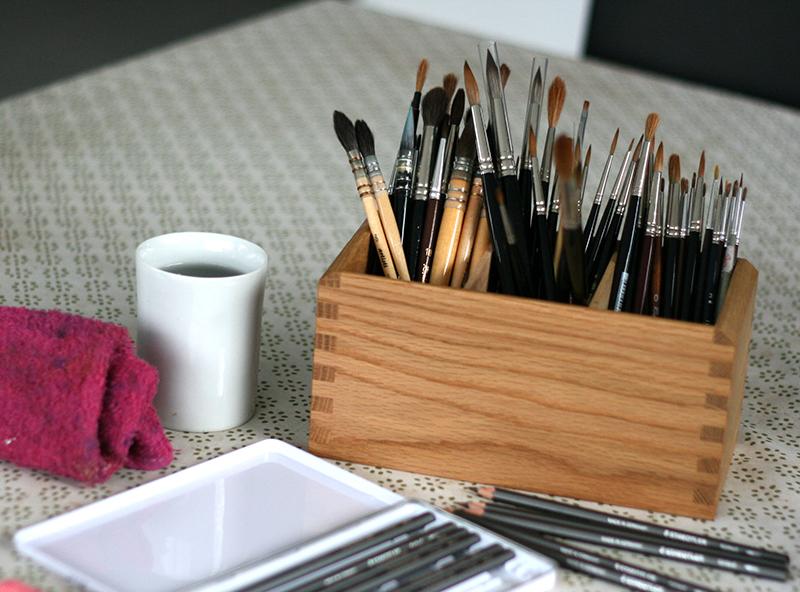 Atelier Aux Couleurs d'Alix pour test crayon graphite aquarellable teinté Staedtler