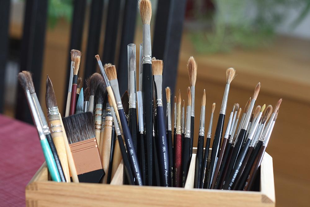 Choix de pinceaux de qualité pour aquarelle