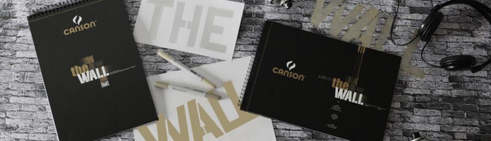 Papier Canson The wall épais spécial feutres à alcool