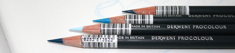 le crayon de couleur derwent procolour