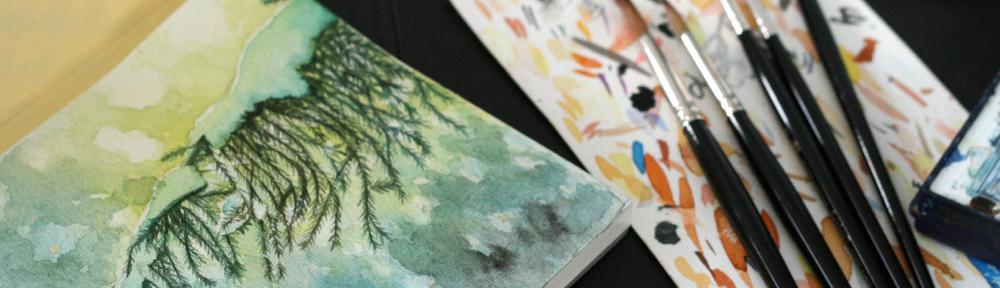Test sur papier aquarelle professionnel Fabriano